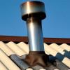 Заделка трубы на шиферной крыше своими руками